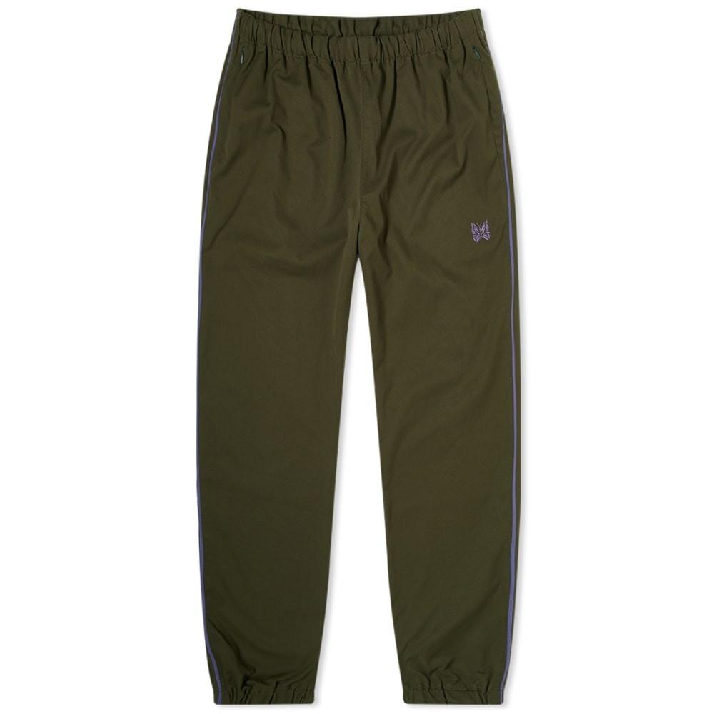 NEEDLES ラン トラック 【 RUN UP TRACK PANT GREEN 】 メンズファッション ズボン パンツ 送料無料