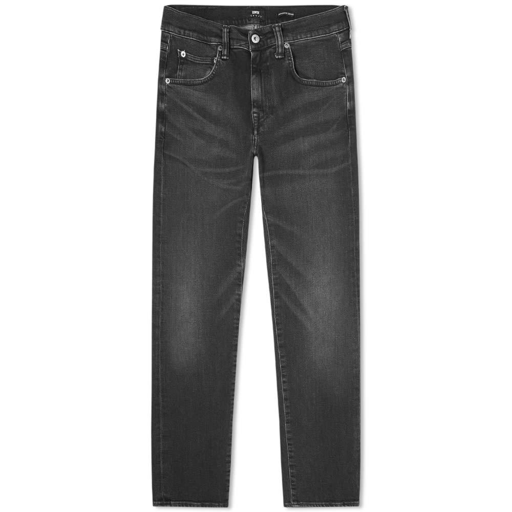 エドウィン EDWIN 黒 ブラック 11.8OZ 【 BLACK EDWIN ED55 REGULAR TAPERED JEAN KIOKO AYANO 】 メンズファッション ズボン パンツ