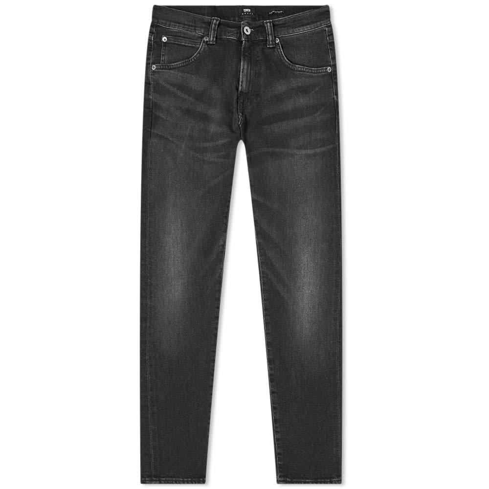 エドウィン EDWIN スリム 黒 ブラック 11.8OZ 【 SLIM BLACK EDWIN ED85 TAPERED JEAN KIOKO AYANO 】 メンズファッション ズボン パンツ