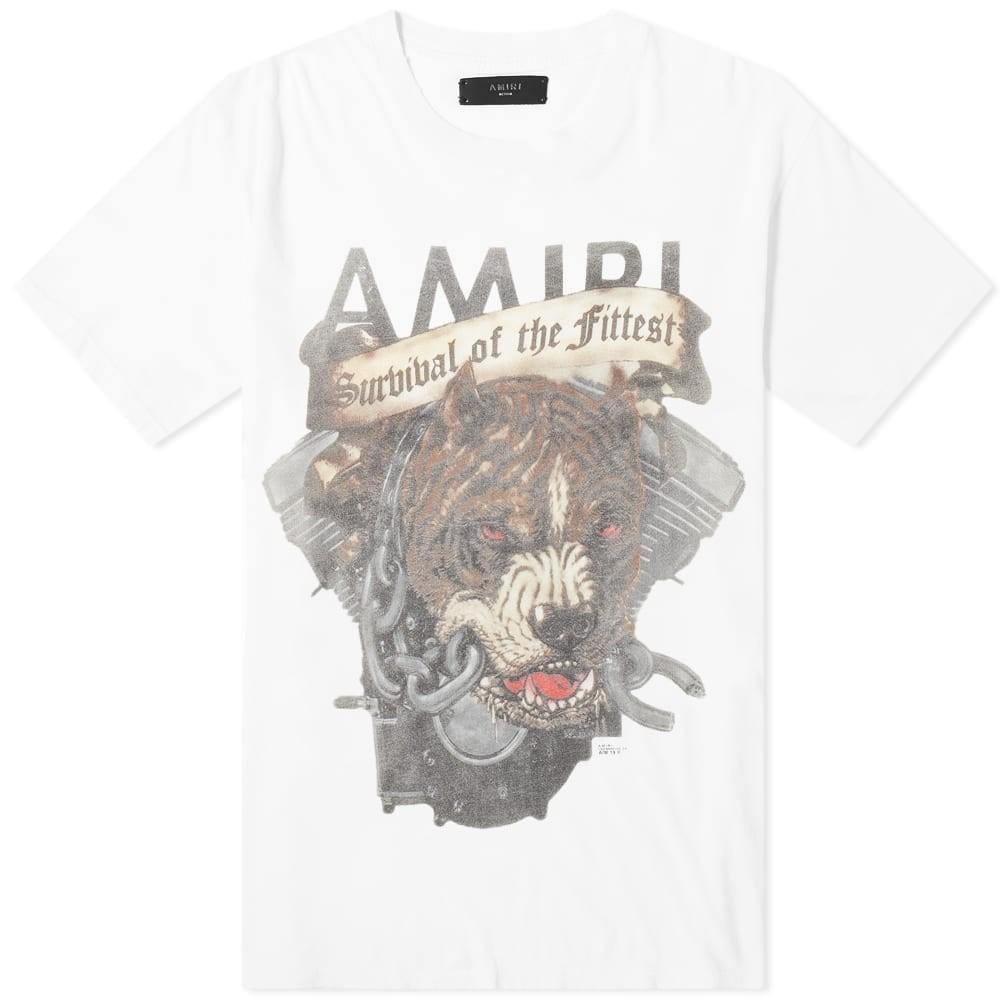 AMIRI Tシャツ メンズファッション トップス カットソー メンズ 【 Pitbull Tee 】 White