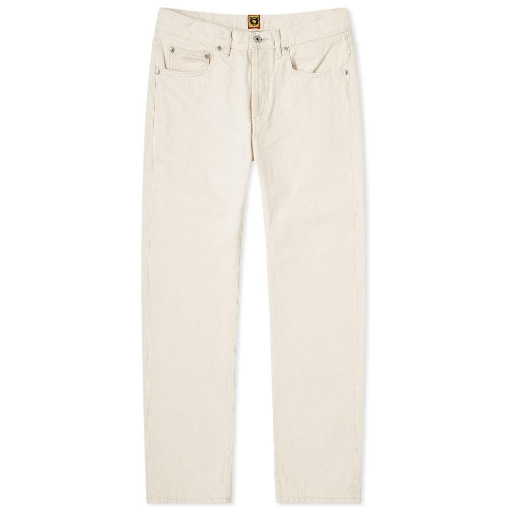 HUMAN MADE スリム 【 SLIM PATCH JEAN WHITE 】 メンズファッション ズボン パンツ 送料無料