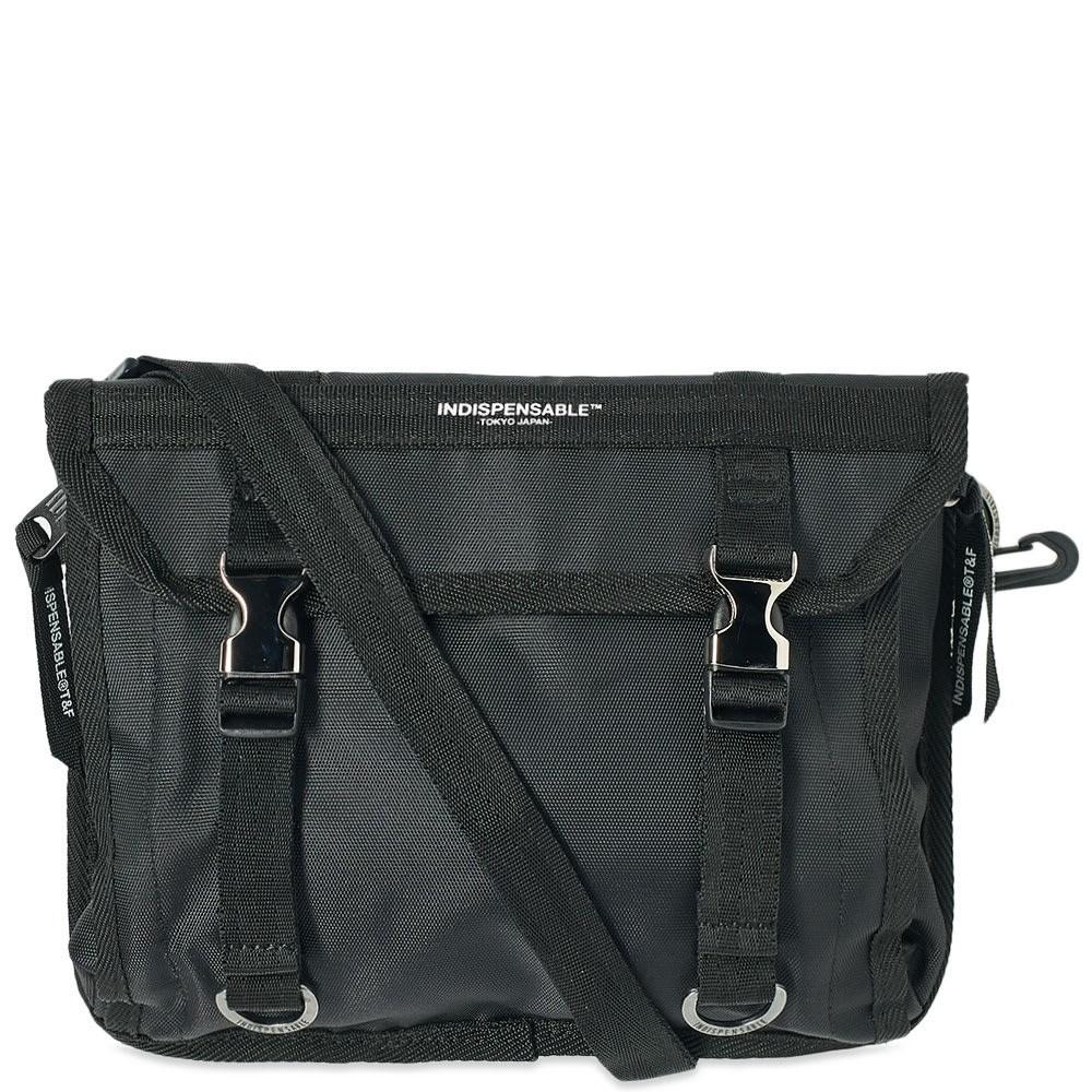 ファッションブランド カジュアル ファッション バッグ INDISPENSABLE 【 TEMPO MESSENGER BAG BLACK 】 バッグ 送料無料