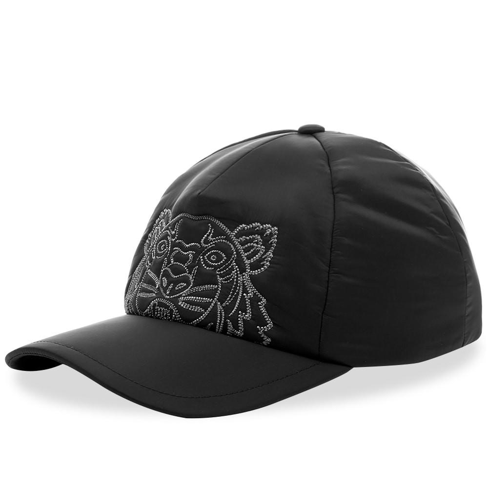 ファッションブランド カジュアル ファッション キャップ ハット KENZO ナイロン 【 NYLON EMBROIDERED CAP BLACK 】 バッグ キャップ 帽子 メンズキャップ 送料無料