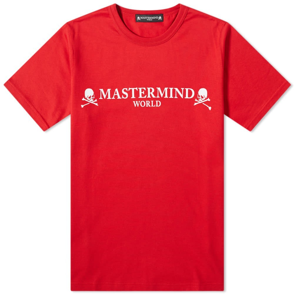 MASTERMIND WORLD 【 PRINTED SKULL TEE RED 】 メンズファッション トップス Tシャツ カットソー 送料無料