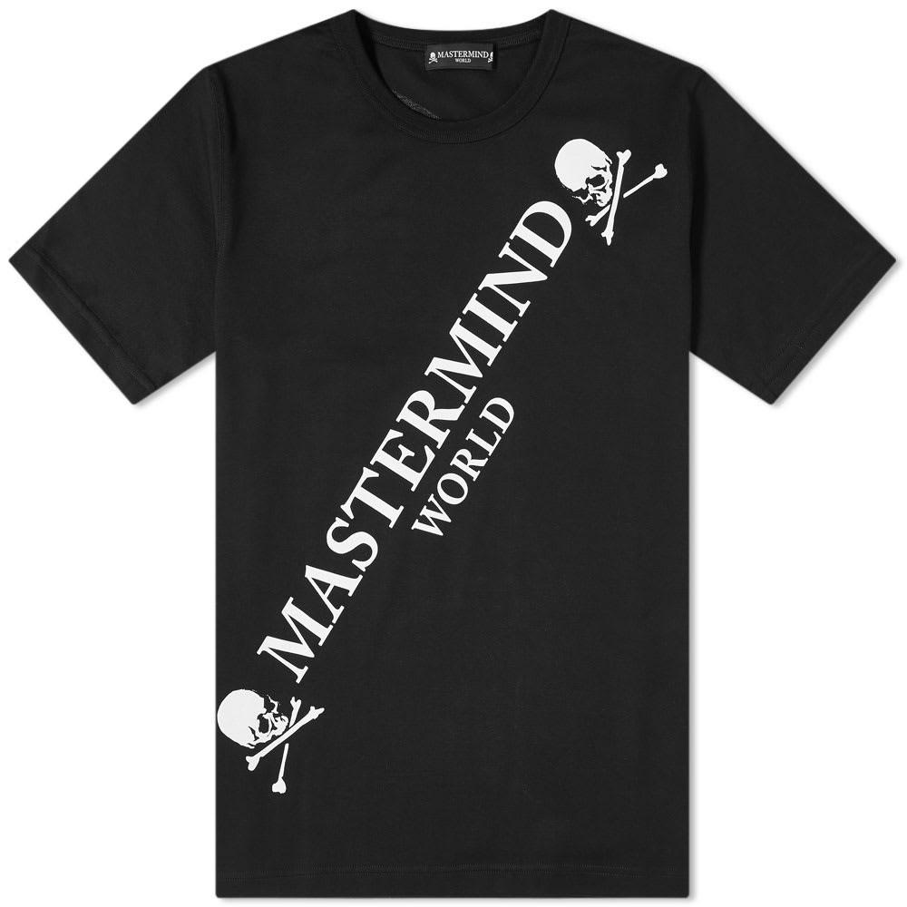 MASTERMIND WORLD ロゴ 【 BIG LOGO TEE BLACK 】 メンズファッション トップス Tシャツ カットソー 送料無料