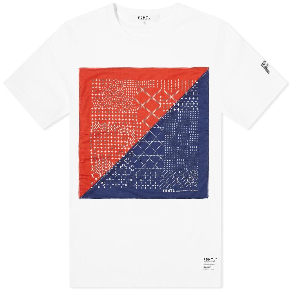 FDMTL Tシャツ メンズファッション トップス カットソー メンズ 【 Bandana Tee 】 White