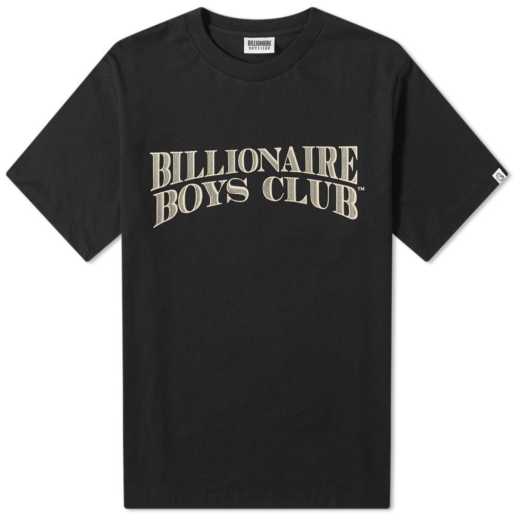 ビリオネアボーイズクラブ BILLIONAIRE BOYS CLUB ロゴ グラフィック Tシャツ メンズファッション トップス カットソー メンズ 【 Logo Graphic Slub Tee 】 Black