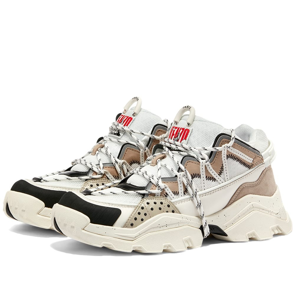 【スーパーセール中! 6/11深夜2時迄】KENZO スニーカー メンズ 【 Inka Low Top Sneaker 】 Pale Grey