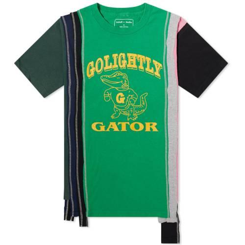 NEEDLES カレッジ Tシャツ メンズファッション トップス カットソー メンズ 【 7 Cuts College Tee 】 Assorted