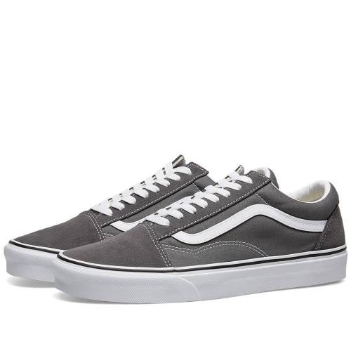 バンズ VANS スニーカー メンズ 【 Ua Old Skool 】 Pewter & True White