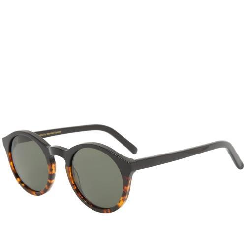 MONOKEL サングラス バッグ 眼鏡 メンズ 【 Barstow Sunglasses 】 Black & Havana