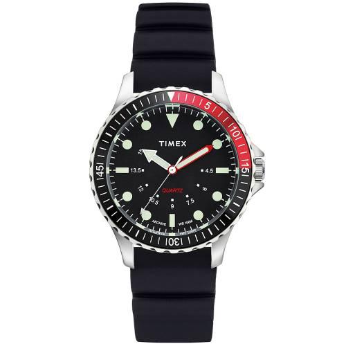 TIMEX タイメックス 銀色 スチール 【 TIMEX ARCHIVE NAVI DEPTH STEEL 】 腕時計 メンズ腕時計
