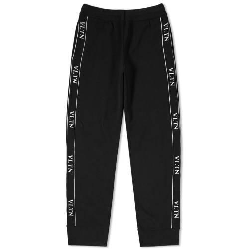 VALENTINO トラック パンツ メンズファッション ズボン メンズ 【 Vltn Taped Track Pant 】 Black
