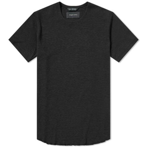 【スーパーセール中! 6/11深夜2時迄】WINGS + HORNS Tシャツ メンズファッション トップス カットソー メンズ 【 Base Crew Tee 】 Black