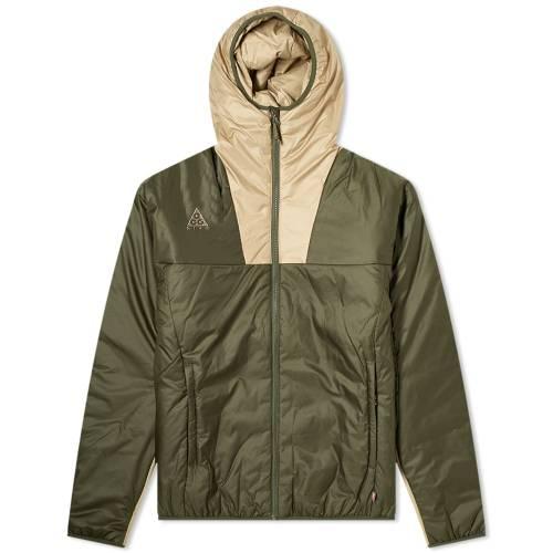 ナイキ NIKE メンズファッション コート ジャケット メンズ 【 Acg Primaloft Jacket 】 Cargo Khaki & String