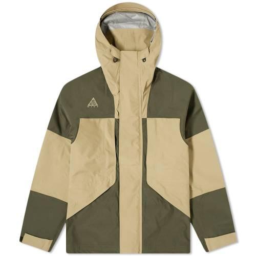 ナイキ NIKE メンズファッション コート ジャケット メンズ 【 Acg 2l Gore-tex Jacket 】 Cargo Khaki