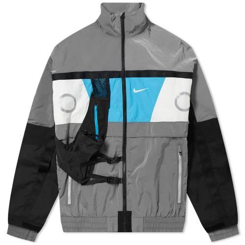 ナイキ NIKE メンズファッション コート ジャケット メンズ 【 Collective Commune Jacket 】 Wolf Grey, White & Blue