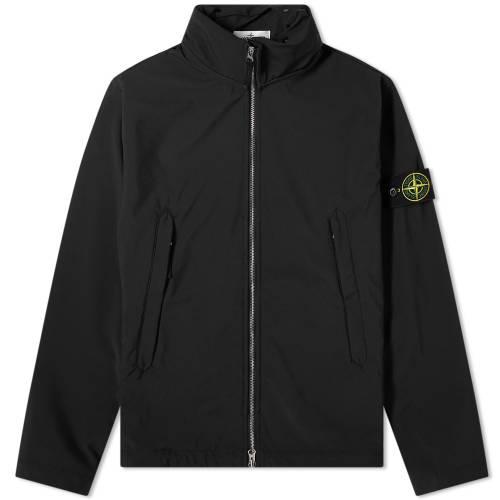 STONE ISLAND メンズファッション コート ジャケット メンズ 【 Light Soft Shell-r Jacket 】 Black