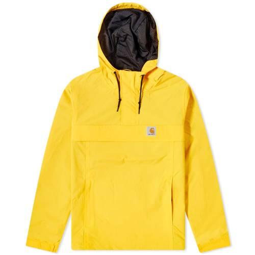 カーハート ダブリューアイピー CARHARTT WIP メンズファッション コート ジャケット メンズ 【 Nimbus Mesh Lined Pullover Jacket 】 Sunflower