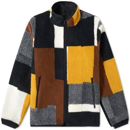 JOHN ELLIOTT リバーシブル フリース メンズファッション コート ジャケット メンズ 【 Nashville Jacquard Reversible Fleece 】 Multi