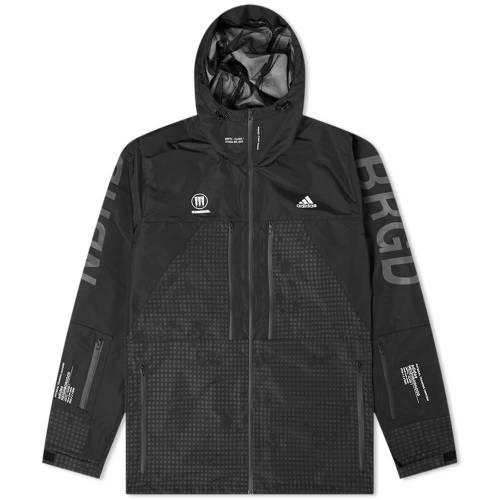 ADIDAS CONSORTIUM メンズファッション コート ジャケット メンズ 【 Adidas X Neighborhood Jacket 】 Black