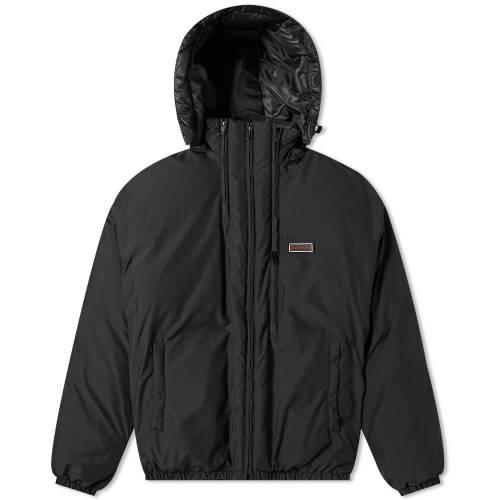 GIVENCHY メンズファッション コート ジャケット メンズ 【 Triple Zip Short Puffer Jacket 】 Black