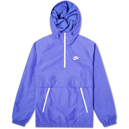ナイキ NIKE ウーブン メンズファッション コート ジャケット メンズ 【 Retro Woven Anorak 】 Persian Violet & White