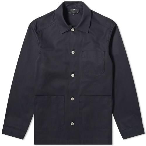 A.P.C. メンズファッション コート ジャケット メンズ 【 Finistere Chore Jacket 】 Dark Navy