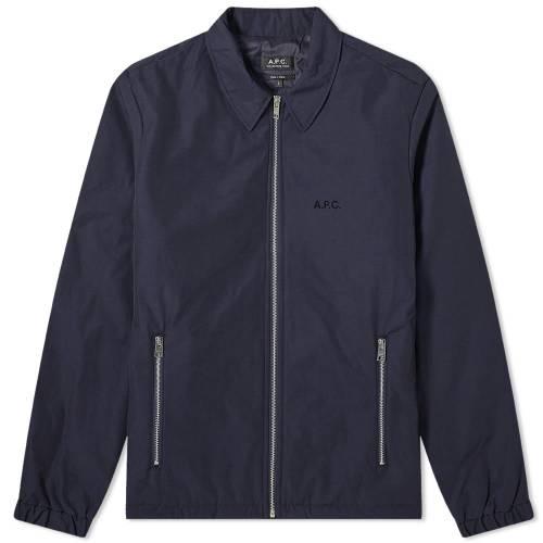 A.P.C. メンズファッション コート ジャケット メンズ 【 Leon Harrington Jacket 】 Navy