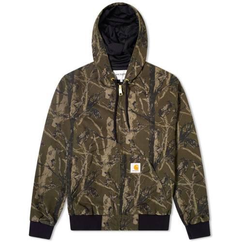 カーハート ダブリューアイピー CARHARTT WIP メンズファッション コート ジャケット メンズ 【 Active Jacket 】 Camo Tree & Green