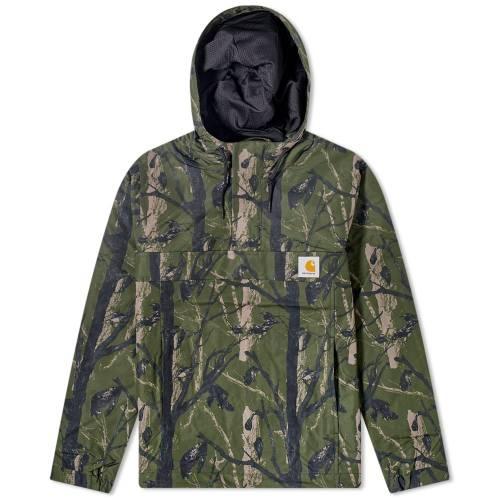 カーハート ダブリューアイピー CARHARTT WIP メンズファッション コート ジャケット メンズ 【 Nimbus Mesh Lined Pullover Jacket 】 Camo Tree & Green