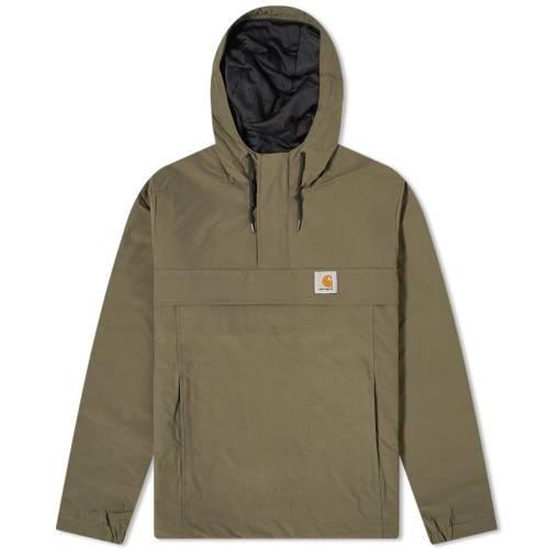 カーハート ダブリューアイピー CARHARTT WIP メンズファッション コート ジャケット メンズ 【 Nimbus Mesh Lined Pullover Jacket 】 Cypress