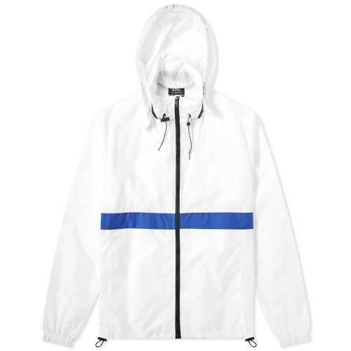 A.P.C. 【 MILES ZIP WINDBREAKER TRANSPARENT 】 メンズファッション コート ジャケット 送料無料