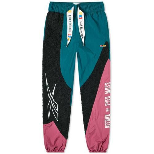 リーボック REEBOK リーボック トラック パンツ ディープ 【 REEBOK X PYER MOSS SHERPA TRACK PANT DEEP TEAL 】 メンズファッション ズボン パンツ