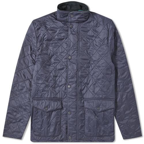バブアー BARBOUR 【 BLUNK POLARQUILT JACKET NAVY 】 メンズファッション コート ジャケット 送料無料