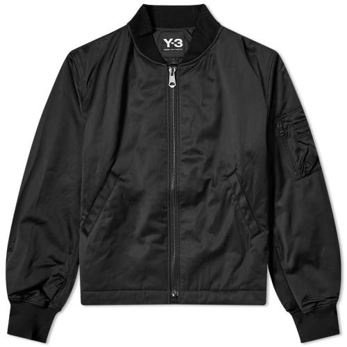 Y-3 グラフィック 【 Y3 CRAFT GRAPHIC BOMBER BLACK 】 メンズファッション コート ジャケット 送料無料