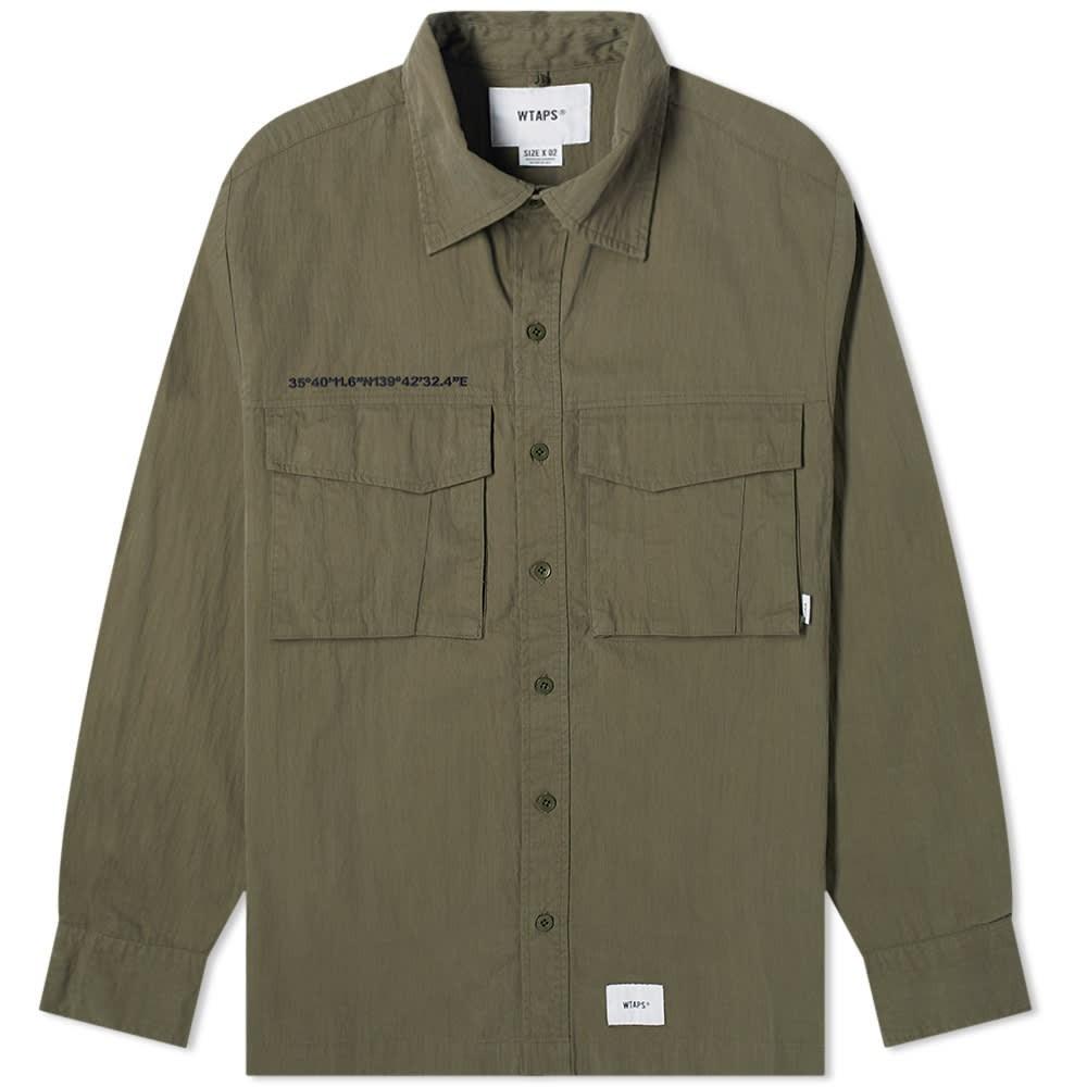 WTAPS 【 SEAGULL SHIRT OLIVE DRAB 】 メンズファッション トップス カジュアルシャツ 送料無料