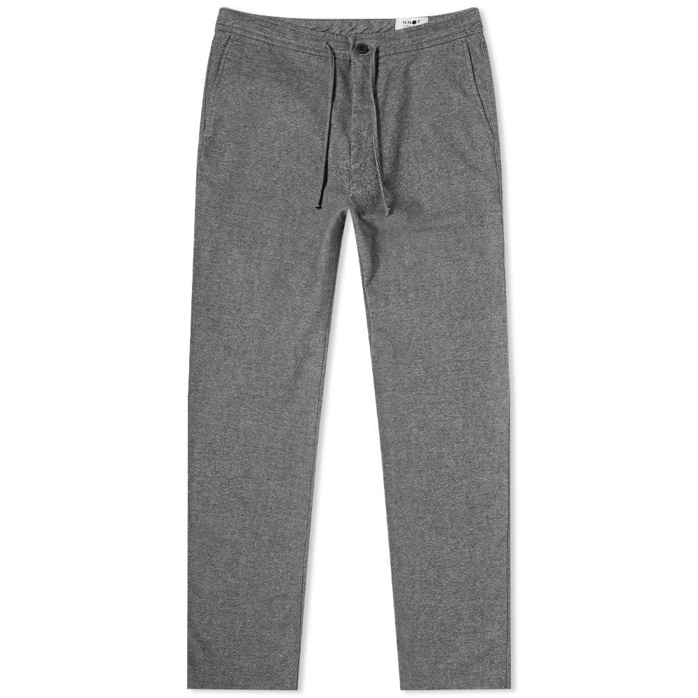 NN07 【 COPENHAGEN DRAWSTRING PANT GREY MELANGE 】 メンズファッション ズボン パンツ 送料無料