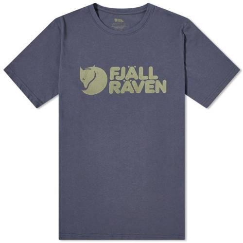 FJ・・LLR・・VEN ロゴ Tシャツ 紺 ネイビー FJ・・LLR・・VEN 【 NAVY LOGO TEE 】 メンズファッション トップス Tシャツ カットソー