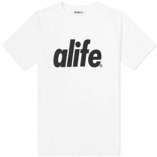 エーライフ ALIFE エーライフ コア ロゴ Tシャツ WHITE? 【 ALIFE CORE LOGO TEE 】 メンズファッション トップス Tシャツ カットソー