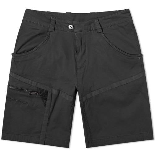 KL・・TTERMUSEN 黒 ブラック KL・・TTERMUSEN 【 BLACK GEFJON DRAWSTRING CLIMBING SHORT 】 メンズファッション ズボン パンツ