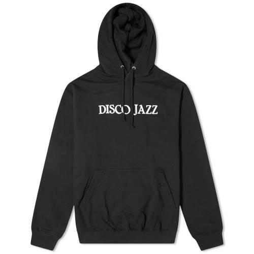 JUNIOR EXECUTIVE ジャズ フーディー パーカー 黒 ブラック 【 BLACK JUNIOR EXECUTIVE DISCO JAZZ HOODY 】 メンズファッション トップス