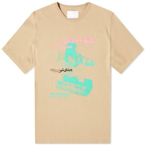 PARIA FARZANEH Tシャツ 【 PARIA FARZANEH ROADSTAR TEE WALL 】 メンズファッション トップス Tシャツ カットソー