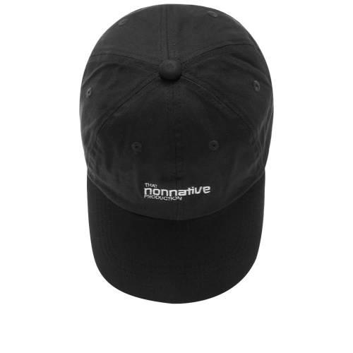 NONNATIVE キャップ キャップ 帽子 黒 ブラックBLACK NONNATIVE DWELLER CAPITALUVpMzqSG