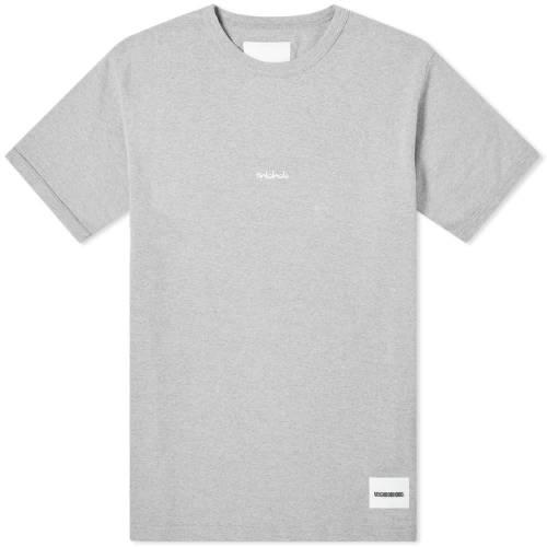 NEIGHBORHOOD Tシャツ GRAY灰色 グレイ 【 GREY NEIGHBORHOOD RIB TEE 】 メンズファッション トップス Tシャツ カットソー