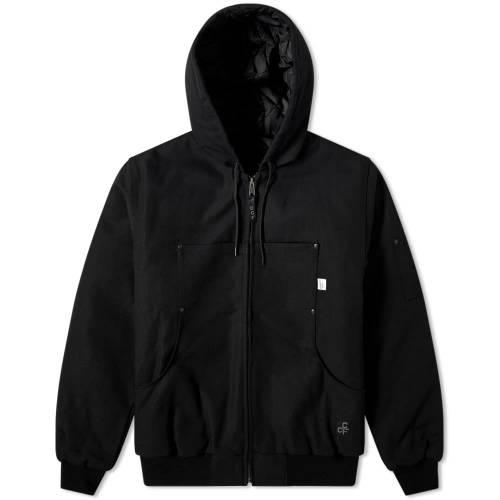 FILSON 黒 ブラック 【 BLACK FILSON CCF UTILITY JACKET 】 メンズファッション コート ジャケット