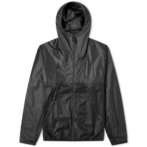 ナイキ NIKE 黒 ブラック & 【 BLACK NIKE ACG LIGHTWEIGHT JACKET ANTHRACITE 】 メンズファッション コート ジャケット