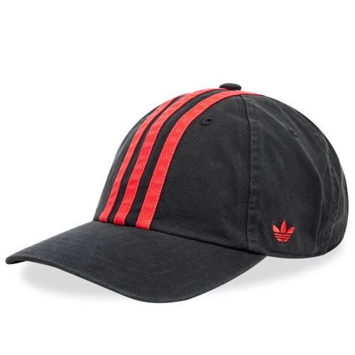 ADIDAS CONSORTIUM キャップ キャップ 帽子 黒 ブラック 赤 レッド & 【 BLACK RED ADIDAS CONSORTIUM X 424 CAP 】 バッグ  キャップ 帽子 メンズキャップ 帽子