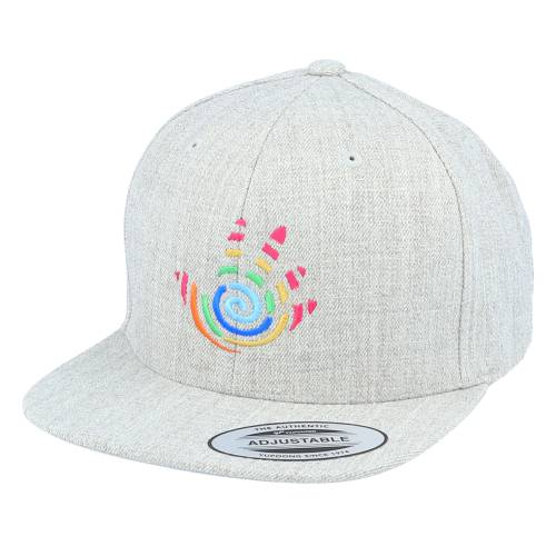 ファッションブランド カジュアル ファッション キャップ ハット 帽子 ヘザー 灰色 グレー スナップバック 新作入荷 贈与 HEATHER CAP バッグ SNAPBACK キッズ ジュニア KIDS HAND KIDDO GREY