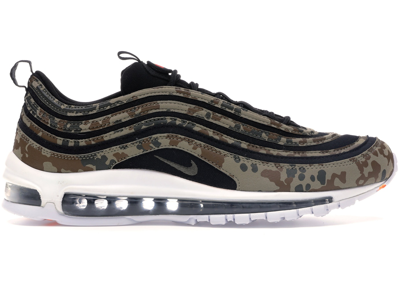 ナイキ NIKE エア マックス カントリー スニーカー 【 AIR MAX 97 COUNTRY CAMO GERMANY BAMBOO BLACKDARK KHAKISEQUOIA 】 メンズ